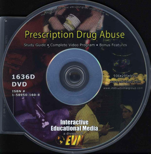 TeachAde Store - Prescription Drug Abuse DVD